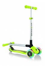 Kolobežka Globber Primo Foldable Lights Lime Green