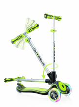 Kolobežka Globber Elite lights, lime green